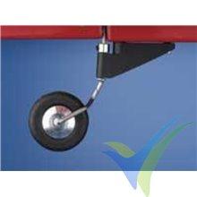Tailwheel bracket .60 Dubro 376, 2.3mm shaft, 8g