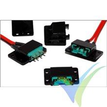 Soporte para conector Multiplex, Emcotec A86013, 4 uds