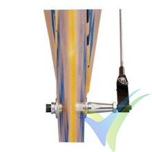 Escuadra de mando ajustable (horn) .40-.90, Dubro 912, 8.5g, 2uds