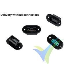 Soporte para conector Multiplex, Emcotec A85016, 8 uds