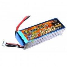 Batería LiPo Gens ace 3300mAh (48.84Wh) 4S1P 25C 366g Deans
