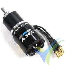 Motor brushless Dualsky XM2838EG-9L Glider, 98g, 360W, 1350Kv