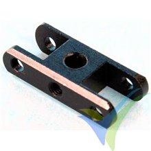 Porta palas Xpower de aluminio para hélice plegable, 4/20mm +5º