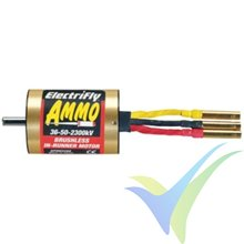 Motor brushless inrunner Great Planes Ammo 36-50-3300, 243g, 1600W, 3300Kv