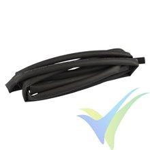 Tubo termorretráctil Yuki Model negro 1mm x 1m