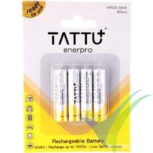 Batería Ni-MH Tattu - Gens ace 800mAh 1.2V, 12.8g, 4 uds