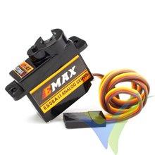 Servo analógico EMAX ES08A II, 8.5g, 1.8Kg.cm, 0.1s/60º, 4.8V-6V