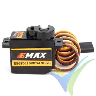 Servo digital EMAX ES08D, 8.6g, 2Kg.cm, 0.1s/60º, 4.8V-6V