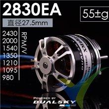 Dualsky XM2830EA-7-10P brushless motor, 55g, 216W, 2000Kv