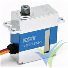 Servo digital KST DS315MG WV, 20g, 4.8Kg.cm, 0.07s/60º, 4.8V-8.4V