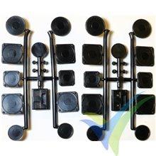Instrumentos de cabina escala 1:4 Oldtimer