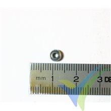 Rodamiento a bolas 5x2x2.5mm, 0.2g