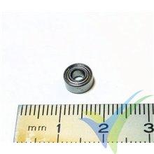 Rodamiento a bolas 7x3x3mm, 0.5g