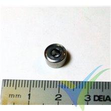 Rodamiento a bolas 8x3x4mm, 0.8g
