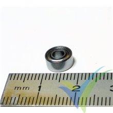 Rodamiento a bolas 7.938x3.175x3.571mm, 0.7g