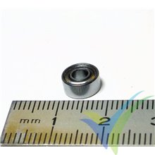 Ball bearing 7.938x3.175x3.571mm, 0.7g