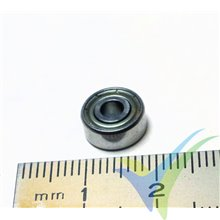 Ball bearing 9.525x3.175x3.967mm, 1.3g