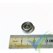 Rodamiento a bolas 10x3x4mm, 1.6g