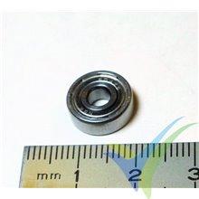 Rodamiento a bolas 12x4x4mm, 2.1g