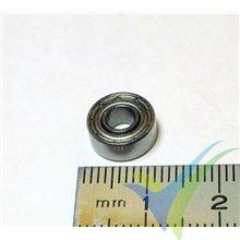 Rodamiento a bolas 10x4x4mm, 1.4g