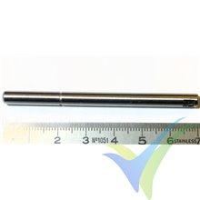 Repuesto de eje para motor EMP N4250, 5mm x 70mm, 10.4g