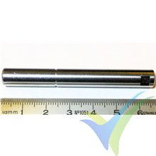 Shaft spare part for N5045 EMP brushless motor, 8mm x 65.8mm, 25.1g