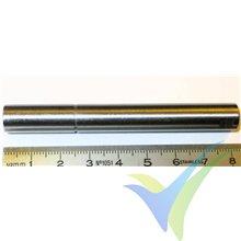 EMP N6354 motor shaft, 10mm x 81.3mm, 48.8g