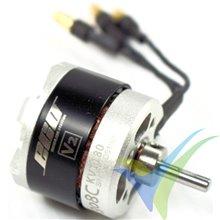 Motor brushless Dualsky Eco 2308C V2, 47g, 240W, 1180Kv