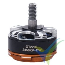 GEMFAN GT2205L brushless motor, 2450Kv, for multirotor