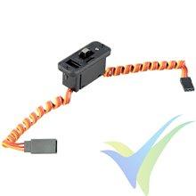 Interruptor de alimentación con LED y toma de carga