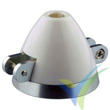YUKI MODEL folding spinner Ø45mm shaft Ø3.17mm Ø4.0mm Ø5.0mm