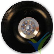 Rueda Topmodel 64mm con llanta de aluminio, 29.7g, 2 uds