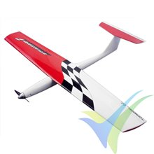 Stinger 1 ARF speed airplane kit, red color, 950mm, 600g