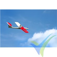Kit avión velocidad Stinger 1 ARF, color rojo, 950mm, 600g