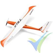 Kit avión velocidad Still ARF, color rojo/blanco, 1000mm, 750g