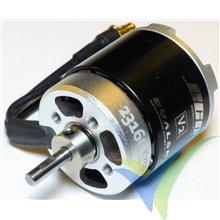 Motor brushless Dualsky Eco 2316C V2, 72g, 368W, 880Kv