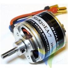 Motor brushless Dualsky XM2830EA-7, 57g, 236W, 1540Kv