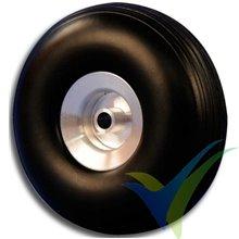 Rueda Topmodel 38x14mm ECOTOP con llanta aluminio, 9.4g, 2 uds