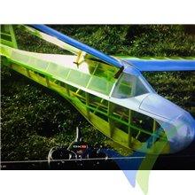 Super Sinbad glider short kit, 2400mm, 1200g