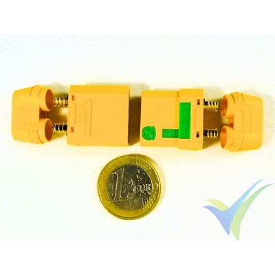 XT90 connector anti-spark, gold plated, male and female