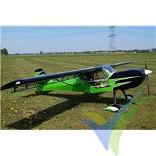 Kit reducido de construcción (short kit) avión Kitfox 1/3, 3250mm, 10 a 12Kg