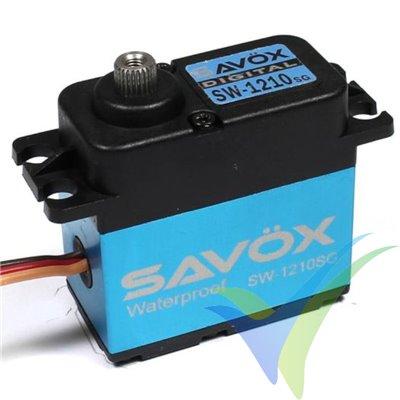 Servo digital Savox SW-1210SG waterproof, 71g, 32Kg.cm, 0.13s/60º, 6V-7.4V