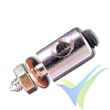 Prison clamp coupling 2mm piano wire to servo, 4 pcs