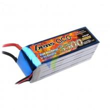 Batería LiPo Gens ace 3300mAh (73.26Wh) 6S1P 35C 543.3g