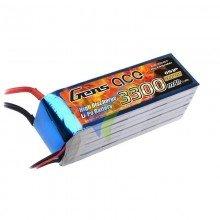 Batería LiPo Gens ace 3300mAh (73.26Wh) 6S1P 35C 543.3g EC5