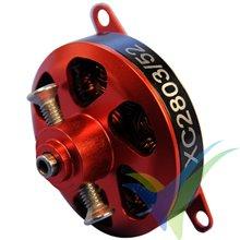 Motor brushless XPower XC2803/52 Nicolas Pietu Replica, 16.5g, 113W, 1860Kv