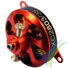 XPower XC2803/38 Nicolas Pietu Energia brushless motor, 16.3g, 109W, 2200Kv