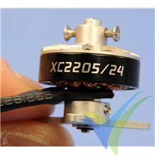 Motor brushless XPower XC2205/24, 15g, 58W, 2200Kv
