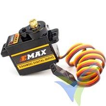 Servo digital EMAX ES08MD II, 13g, 2Kg.cm, 0.1s/60º, 4.8V-6V