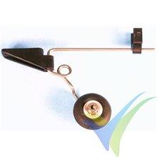 Tren de cola orientable Graupner con rueda 25mm